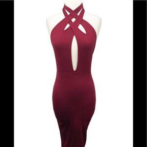 Dresses & Skirts - Burgundy Dress